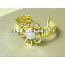 Pulseras de oro de la pulsera del diamante del oro para las mujeres