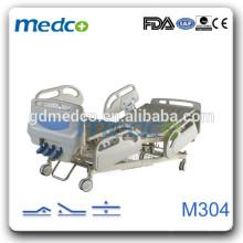Ручное управление ABS голова и доска для ног надеемся 3 кривошипных ручной больничной койки M304