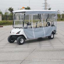 Vehículo utilitario eléctrico de 4 plazas con pantallas de sombra (DG-C4)