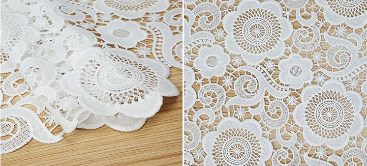 Embroiery lace