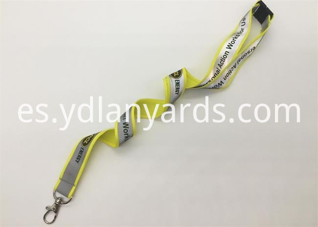 Custom Glow Lanyards