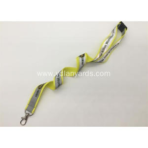 Promotions Gifts Reflective lanayrds Polyester Lanyards