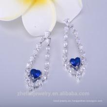 fabricantes de joyas de moda 22k pendientes chapados en oro para mujer