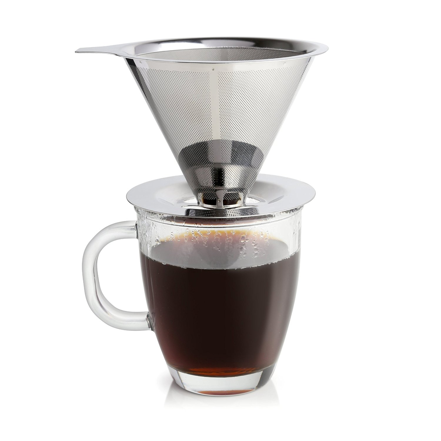 Pour Over Coffee Dripper with Scoop