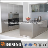 2016 NEW design 304 stainless steel kitchen cabinet from China initiating 304 ss kitchen manufacturer in Guangzhou
