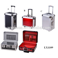 La diverse taille plus populaire moulé cas bagages en aluminium de haute qualité