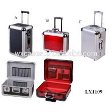 O mais popular vário tamanho moldado caso de bagagem de alumínio com alta qualidade
