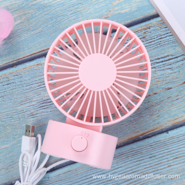 Battery Powered Operated Handheld Personal Desk Cooling Fan