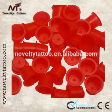 N201015B-R New Red Plastic Tattoo Ink Cups/Ink Caps