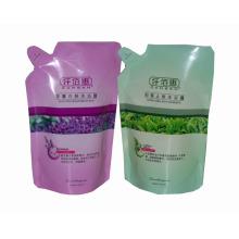 Sac de shampooing / emballage en plastique de shampooing / emballage de blanchisserie