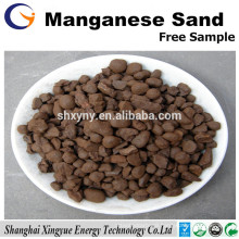 16-30 mesh high quality manganese sand filter media for water purification
