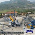 Granit, galets, minerai de fer, minerai de cuivre Application pierre artificielle faisant la machine