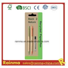 Crayon propulseur en papier pour cadeau stylo Logo