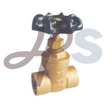 socket brass gate valve