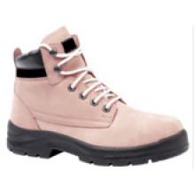 Ufb032 femmes acier chaussures de sécurité d'orteil bottes de sécurité de travail