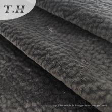 Tissu tricoté de trame de tricots de fabricants de tricotage de polyester 100%
