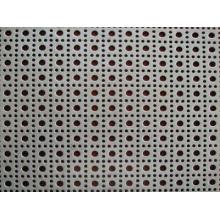 Hoja de Metal Perforada de Acero Galvanizado