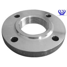 Stainless steel female threaded flange