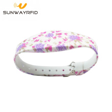 Colorful Printing Nfc Bracelet Silicone RFID Wristband