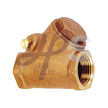 válvula de verificação do balanço do ângulo de bronze Y