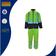 High Visibility Waterproof Insulated Winter Rain Suit