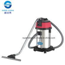 Aspirador 30L para húmedo y seco con acero inoxidable