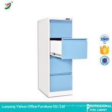 Luoyang Büromöbel Stahl seitlicher Aktenschrank mit 4 Fächern mit Fabrikpreis