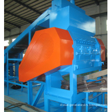 CE ISO9001 Approved Waste Tire Shredder/ Used Tyre Shredder/ Waste Tire Fine Rubber Shredder