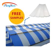 factory heat resistant upvc roof plastic roof panels