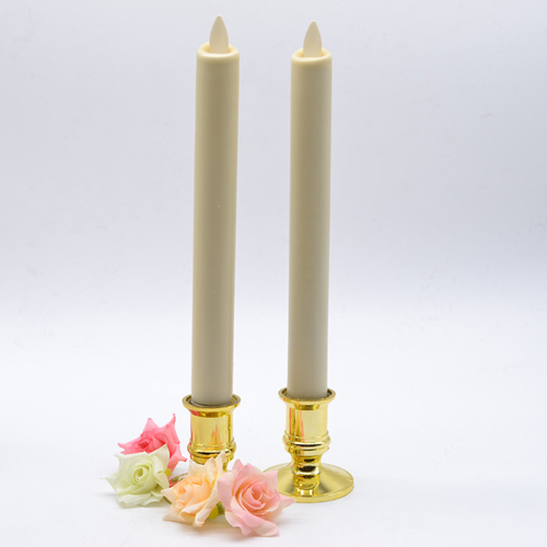 moving flame taper candles set