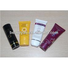 Tubo cosmético D35mm para embalagem de cosmética suncream