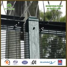 Alta Seguridad Anti Climb Razor Wire Esgrima