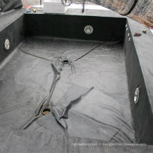 Doublure noire de piscine / revêtement de bassin / membrane imperméable d'EPDM