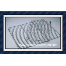 Stainless Steel /PE Coating Welded Wire Rack for Freezer Food Storage
