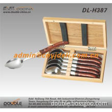 6 Pcs Spoon Set Wooden Box DL-H387