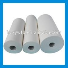 Querläppende / parallele Viskose-Polyester-Holzmasse-industrielle Abwischen-Rolle Spunlace-nichtgewebtes Abwischen