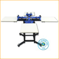 Economic 4 color screen printing machine for sale