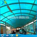 Теплоизолированные polycarb крыши покрывая ПК лист для сарай