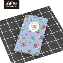 Natural style single sewing notebook