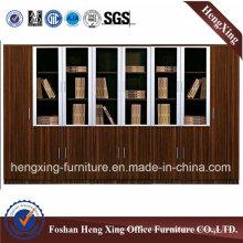 New Design Wooden Storage Book Shelf File Cabinet (HX-4FL026)