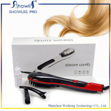 Elctric LCD Screen Display Hair Straightener Comb