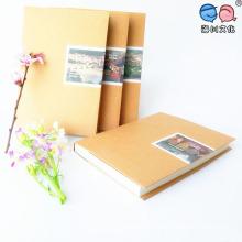 Пустые страницы для обработки коричневых тетрадей для крафт-бумаги (XLF3280-K08)