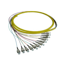 Fc fibre pigtail cordon de raccordement, fibre patch cable / cable bundle 12 core 24 core
