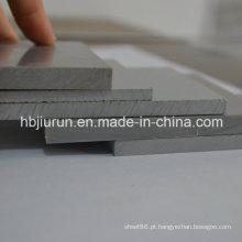 Folha de plástico PVC cinza para venda
