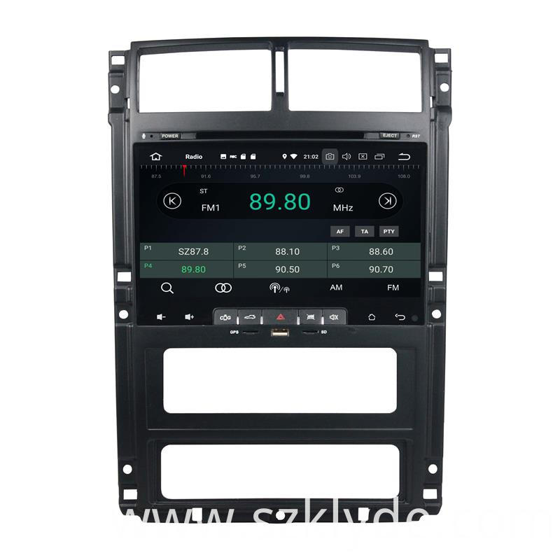 Octa Core 32G Head Unit Peugeot 405 (3)