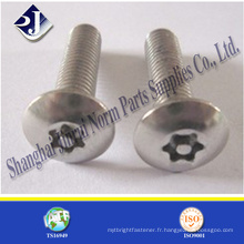T5 T10 T15 T20 T25 T30 T40 T35 Tube Torx Screw