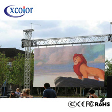 P3.91 Outdoor Große RGB LED Screen Vermietung