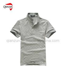 T-shirt do pescoço do polo (D40)