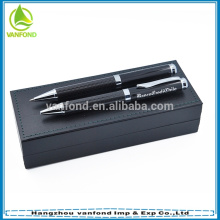 Luxury carbon fiber designed Featured roller metal engraved pens