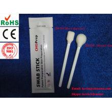 cotonete esterilizado com álcool